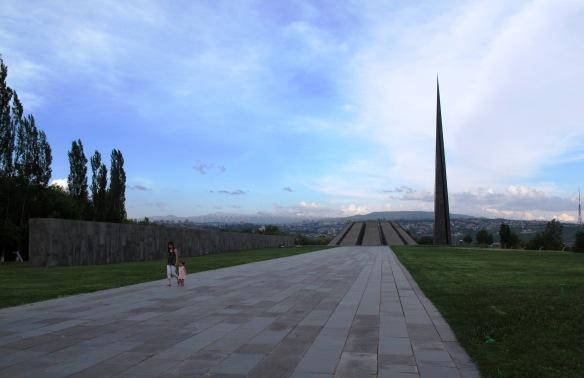 Yerevan, Armenia - Memoriale e museo del Genocidio degli Armeni