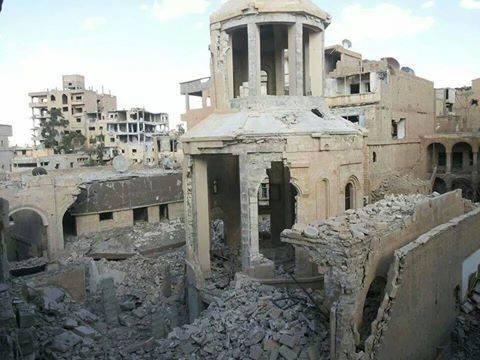 Chiesa di Deir el Zor, Siria