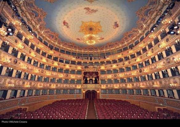 Teatro La Fenice Venezia. Foto di ©Michele Crosera